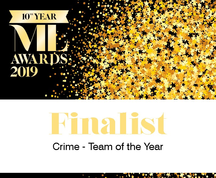 Manchester Law Awards - Finalist 2019 Crime Team of the Year