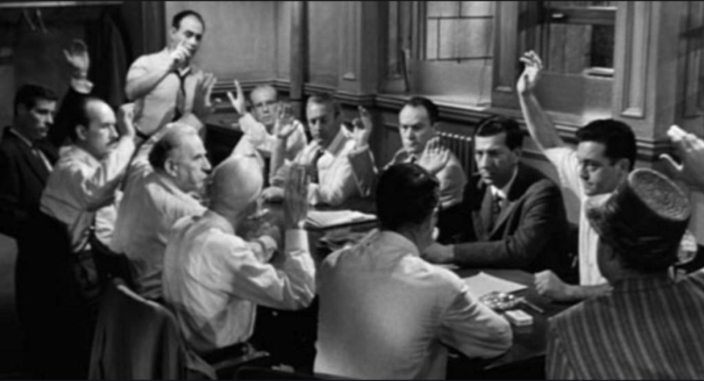 12 Angry men - jury service