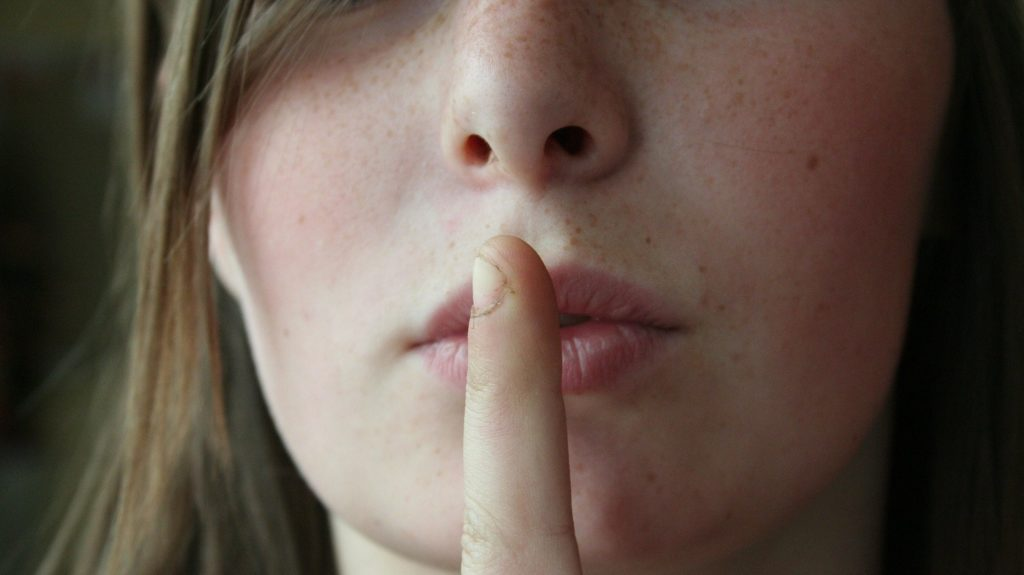 responding to allegations - stay quiet