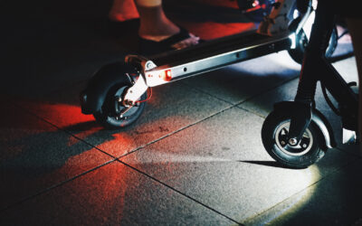 The Use of e-Scooters & The Law